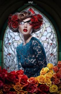 Art Work Postprocessing: Gonzalo Villar – Model: Kristina Yakimova – Photo Model: Katia Nikitina