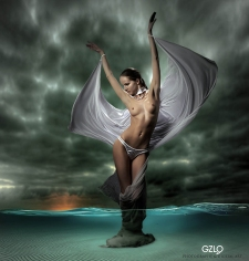 Photocreation: Gonzalo Villar – Photo: Михаил График – Model : Kristina Yakimova