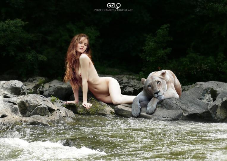 Photocreation: Gonzalo Villar – Model: Kristina Yakimova – Photo Model: Yulia Svetski