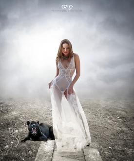 Photocreation: Gonzalo Villar – Model: Kristina Yakimova – Photo of model: Viktoria Ivanenko
