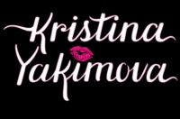 kristina-logo black kiss
